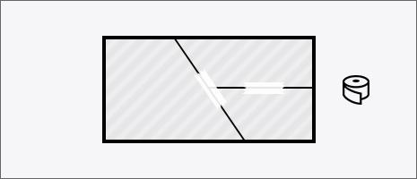土地合筆登記 イメージ図